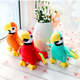 Dropshipping Cute Plush Rio Macaw Parrot Plush Toy Stuffed Doll Bird Baby Kids Children Birthday Gift