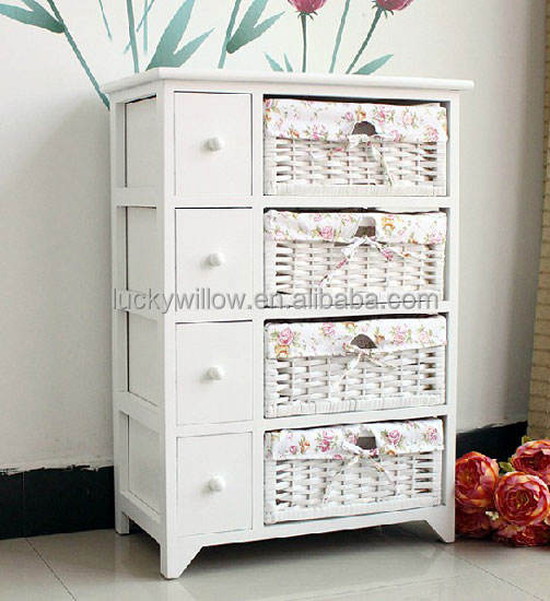tong wood kitchen cabinet wire basket for other home decoration