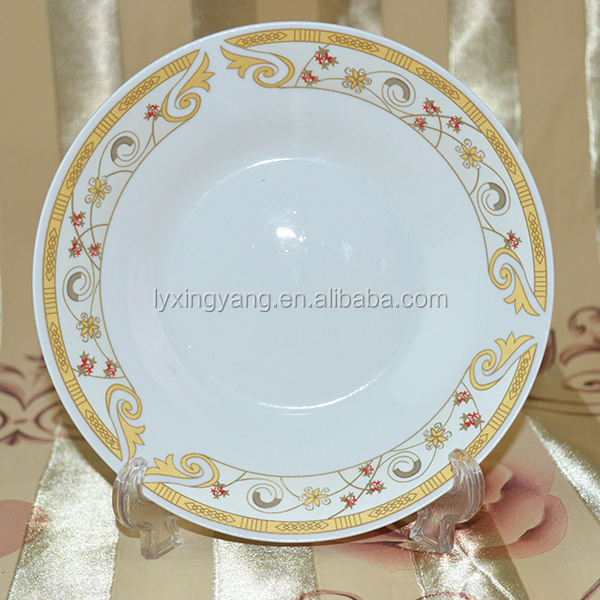 Peru marekt ceramic dishes plate , platos de porcelana placa , dish plate wholesale