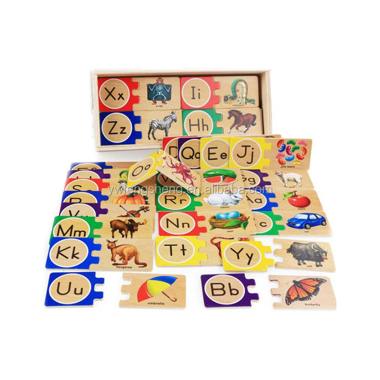 Self Correcting Alphabet Letter Wooden Puzzle