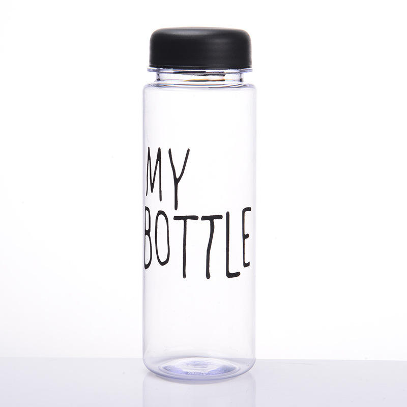 Hot Sale 500ml Plastic Drinking Water Bottle My Bottle