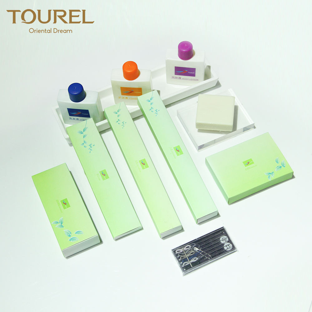 High end customized luxury hotel shower gel bath amenity kit set airline for airway companies
