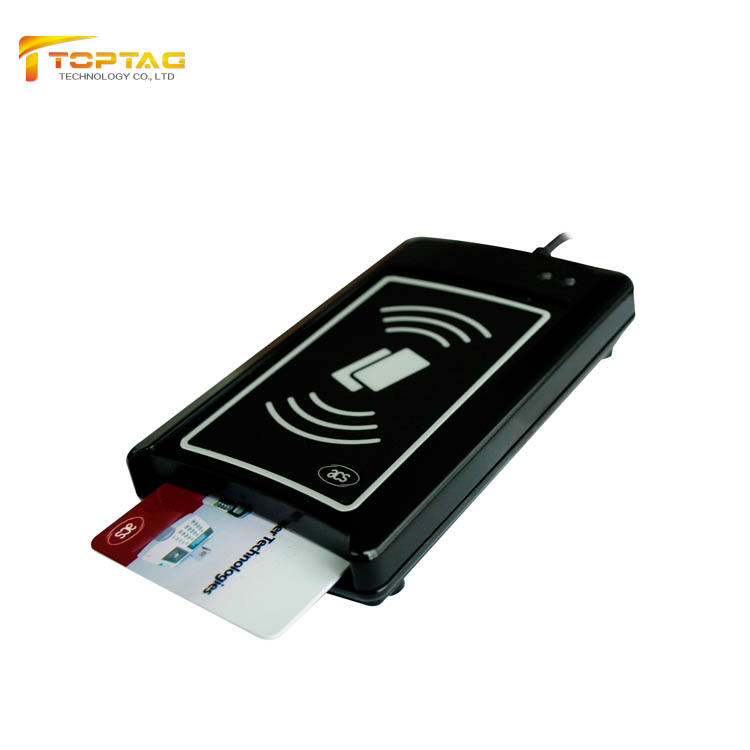 Dual Interface 13.56mhz Smart NFC Reader Skimmer And Writer For POS Payment--ACR1281