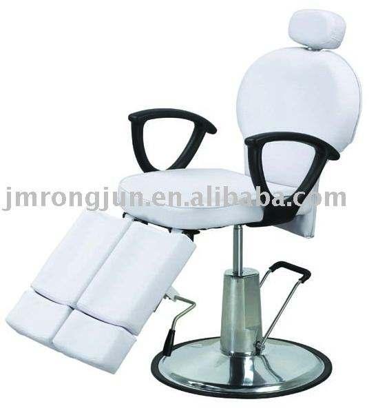 Rj-2102 inclinable y altura ajustable silla de barbero