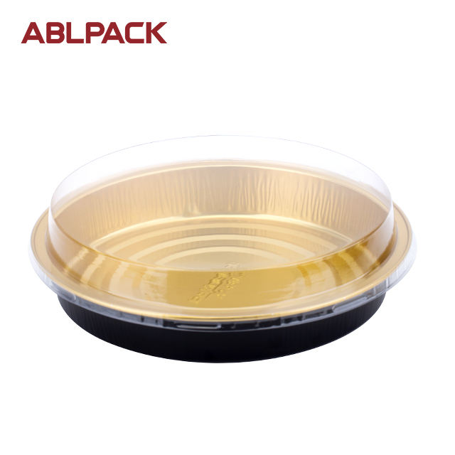 430ML/14.3oz ABL PACK Aluminium Foil Plates Baking Tray Colored Disposable Pie Pan baking cups disposable aluminum