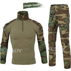 11-Colors Airsoft sports Suit Wargame Paintball Army Military Uniform