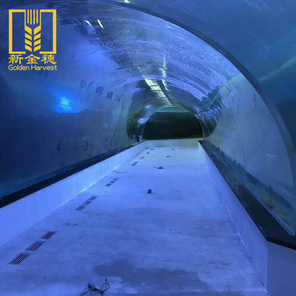 High grade do tanque de peixes de aquário de acrílico grande para criação de peixes