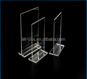 A4 A5 acrylic sign holder