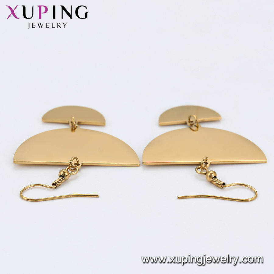 E-899 xuping simple earring, fashion trend women 액세서리 asian 보석