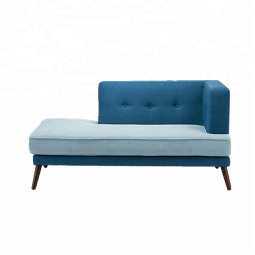 Modern Simple Design Sofa Bed,L Shaped Blue Living Room Sofa Bed for Hotel,Home Use
