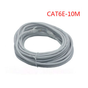 10M CAT6 Ethernet cable plano UTP CAT6 cable de red Gigabit Ethernet cable de parche RJ45 red GigE de cable Lan