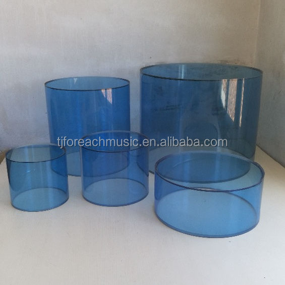 Acrylic Snare Drum Shell set