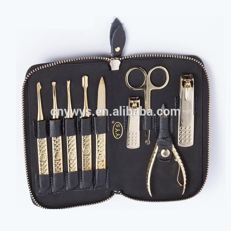 Best Manufacturers In China Manicure Set With Pu Pouch and Mini Travel Manicure Set
