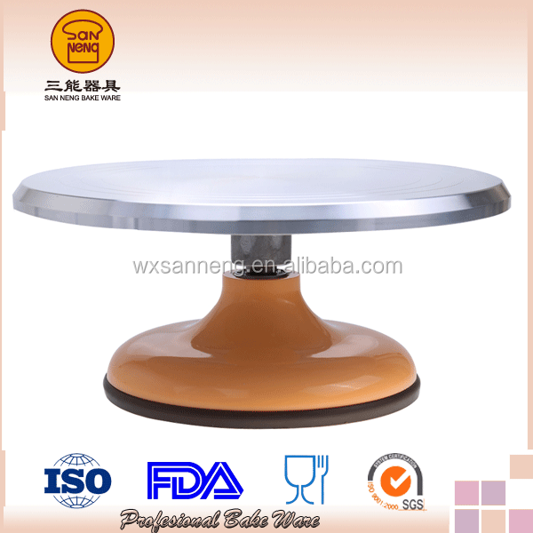 High Standard 360 Degree Revolving Cake Stand / Cake Decorating Tray