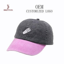 Unstructure Simple Blank Leather Strap Back Dad Hat Custom