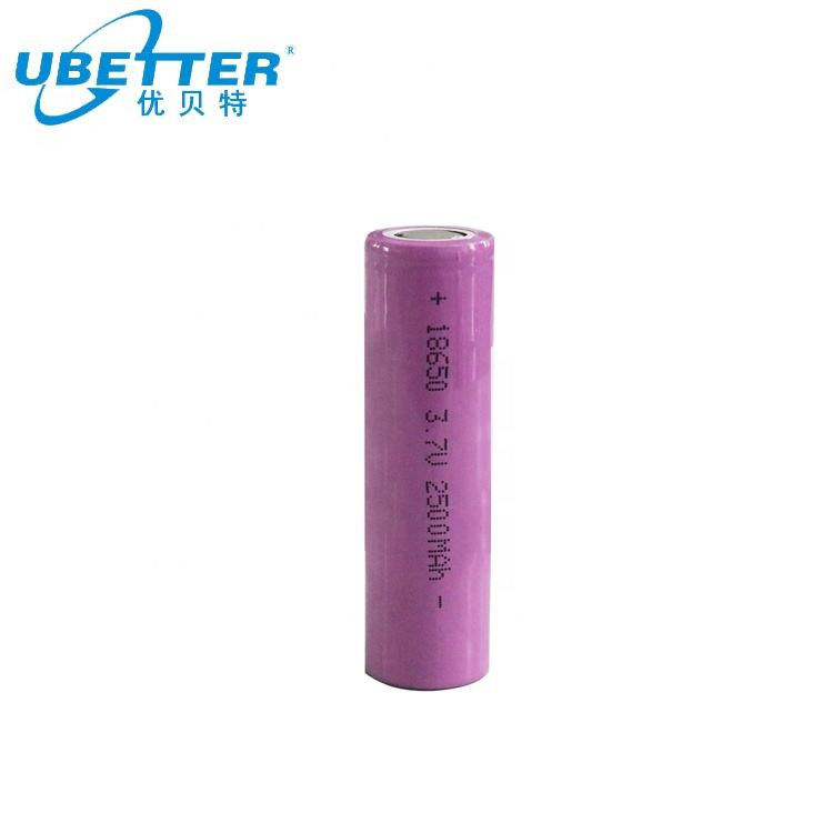 Rechargeable BIS Lithium Battery 18650 3.6V 2400mah 2500mah 2600mah Rechargeable Li-Ion Battery