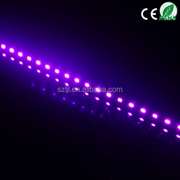 UV Purple color High Power hot selling SMD 5630 led rigid bar strip lights