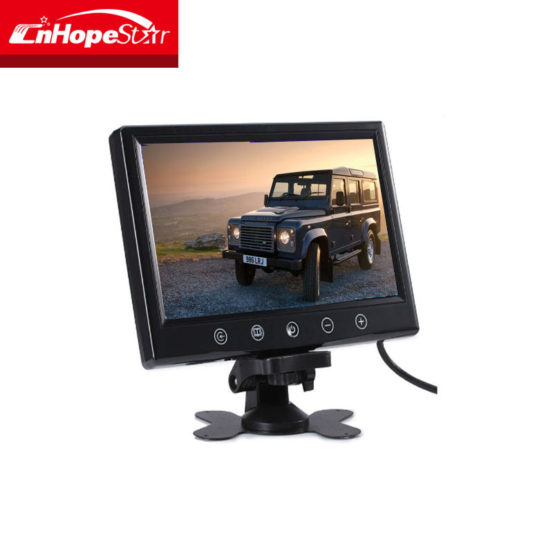 9 inch super tft lcd color car tv monitor lowest price with vga av input