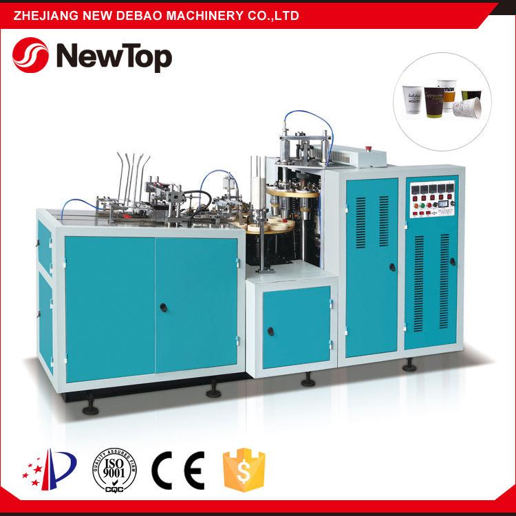 NewTop Mittlerer Geschwindigkeit 45-55 pcs/min Shunda Papier Teetasse Maschine Preis