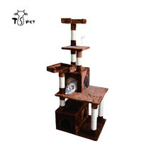 High-end Sisal Pet Toys Cat Products Tree For Cats To Hide And Play