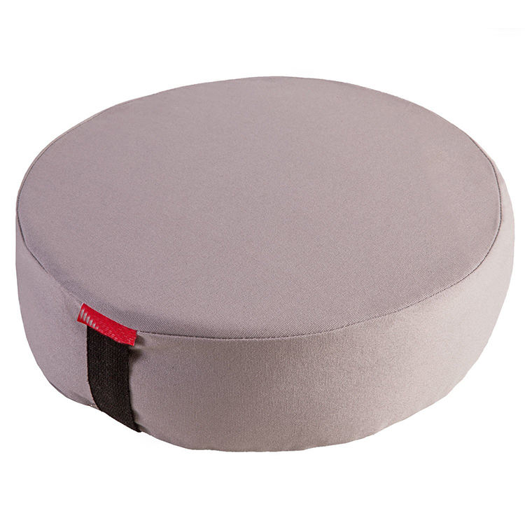 high quality buckwheat filled zafu yoga meditation round floor cushion