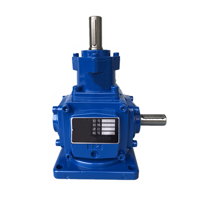 1:1 ratio 90 degree gearbox T series gear steering T6 speed increasing gearbox for elevator