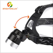 Factory Wholesale Hunting 2*18650 Battery Multi-functional Aluminum 10w xml t6/u2 led Most Powerful Headlamp Bike Headlight