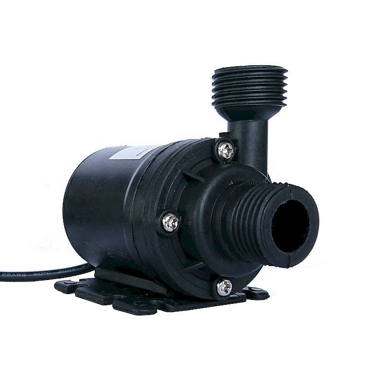 Dc 12v 24v High Flow 5m Solar Pump Centrifugal Submersible Pump