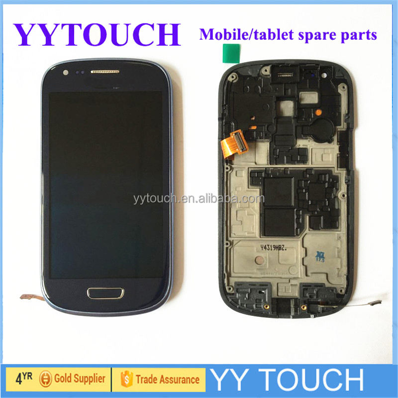 new lcd glass touch screen digitizer for samsung s3 mini display
