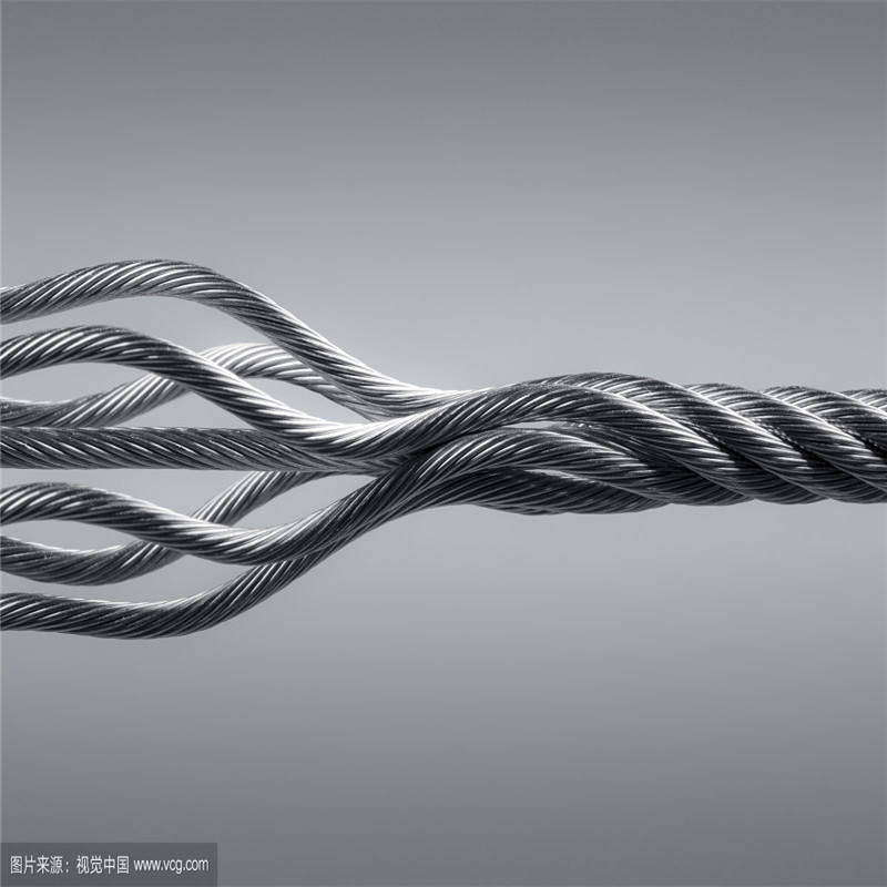 Factory price per meter galvanized steel wire rope