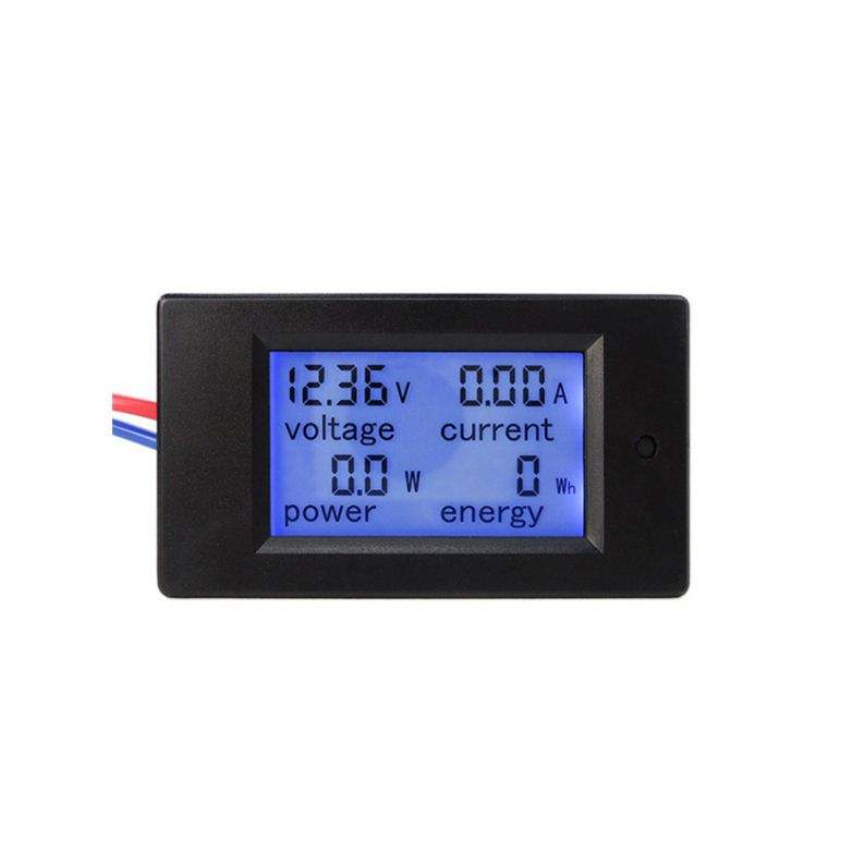 DC 6.5V to 100V 20A Digital 4 in 1 Voltage Current KWh Watt Power tester for Battery