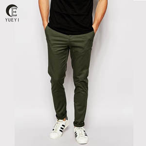 Slim Casual ManกางเกงChinosในOlive