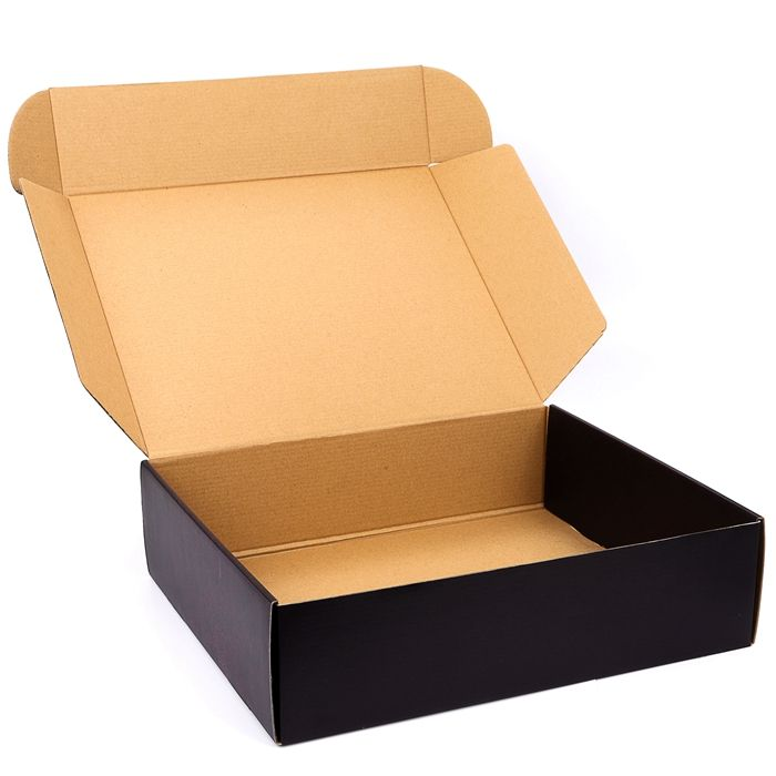 Custom Spot UV logo hard large cardboard packaging shipping box for online products