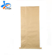 Packaging Brown Kraft Cheap Paper Plastic Composite Bopp 50kg Animal Feed Bag