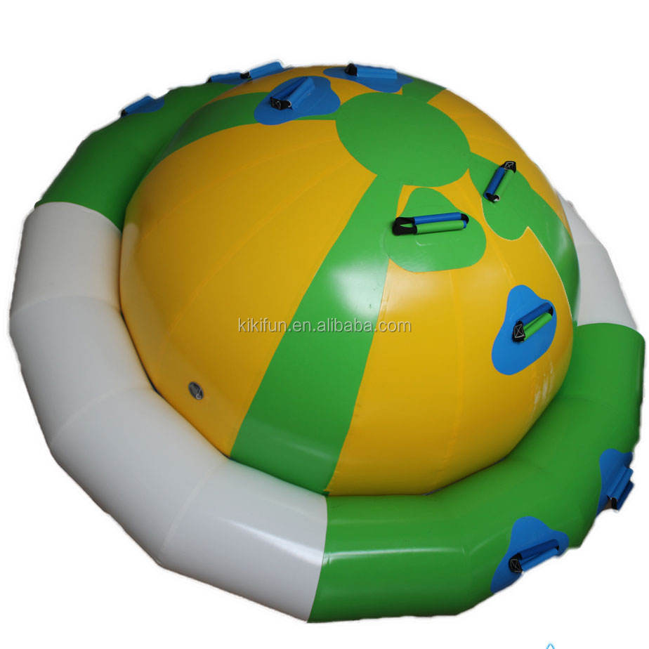 Trade assurance pool floats child inflatable water UFO toys for sale / inflatable beach toys water games for kids n adults 2018