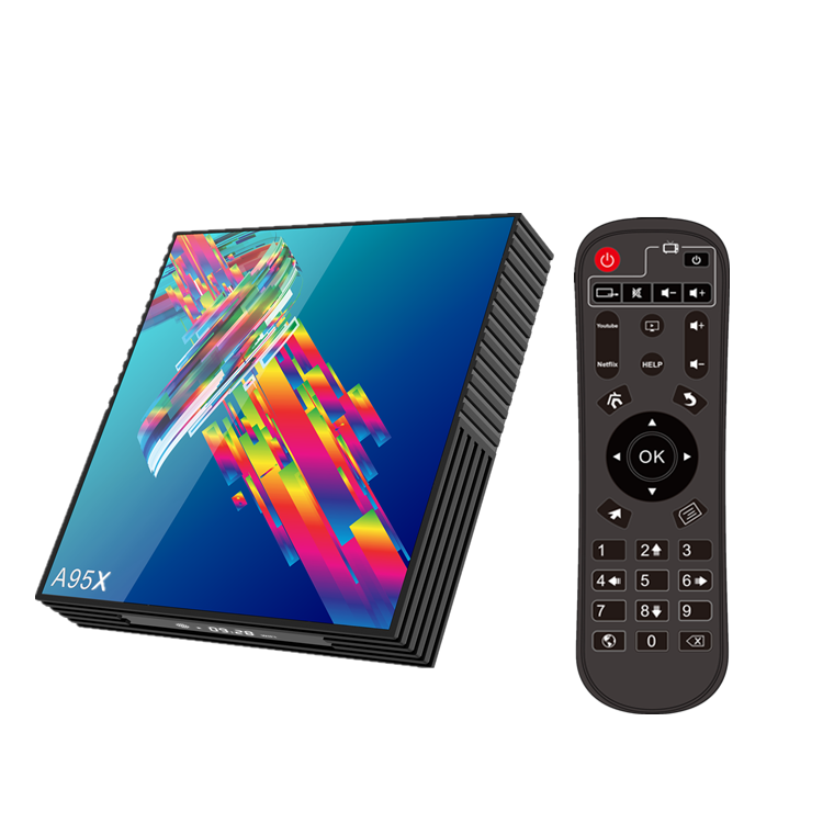 A95XR3 IPTV Smart TV caja Android 9,0 4GB 32GB 64GB 2,4G/5G Wifi BT 4K reproductor de Google A95X R3 H96 MAX PLUS RK3318 Android TV Box