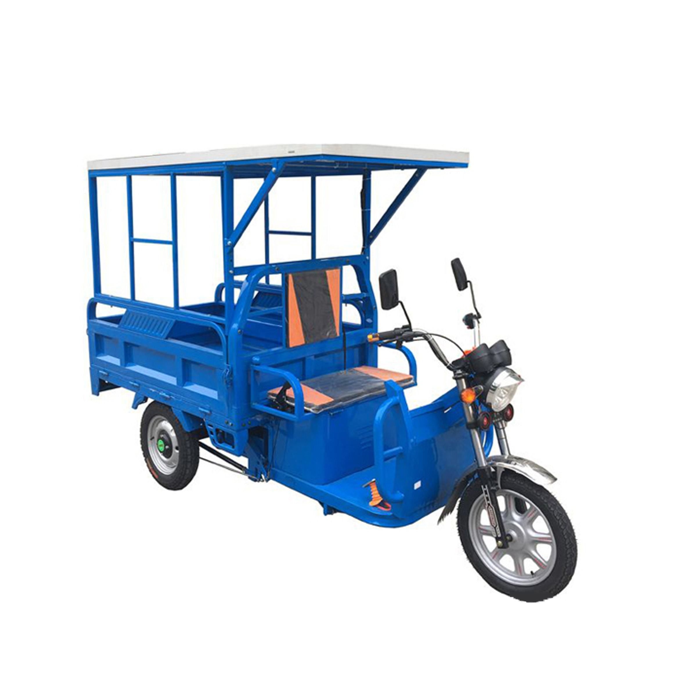 Guangzhou cargo use three wheeltuk tuk battery optional moped electric scooter tricycle for sale
