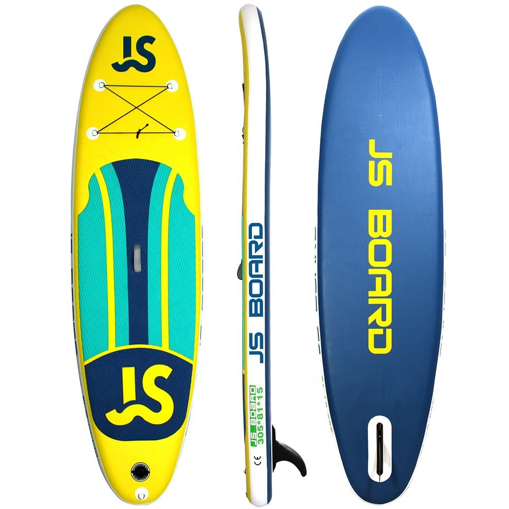 305cm All-round cheap iSUP CE Certificate Inflatable Stand-up Paddle Board Simple Design Cheep Single Layer SUP