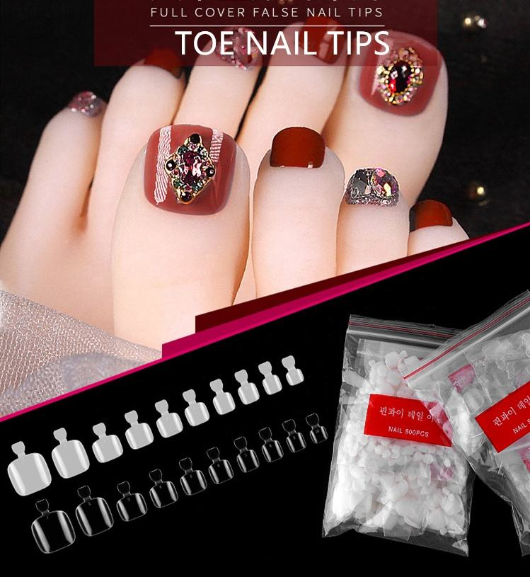 New style arrival light and smoothly toe nail tips