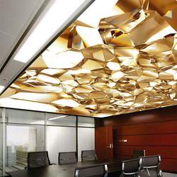 Zhejiang kitchen False ceiling PVC panel spanndecken plafond tendu pinglaed  stretch ceiling 3D ceiling