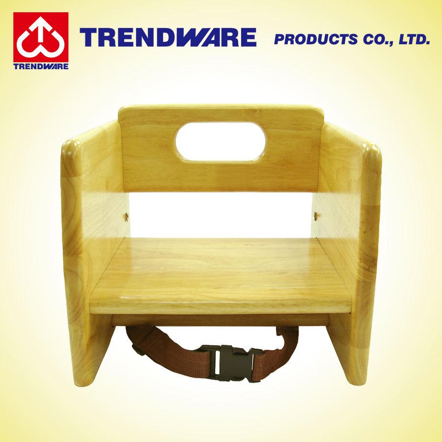 Seguridad de los Niños de madera asiento de la silla de bebé Booster - a la alimentación de los niños