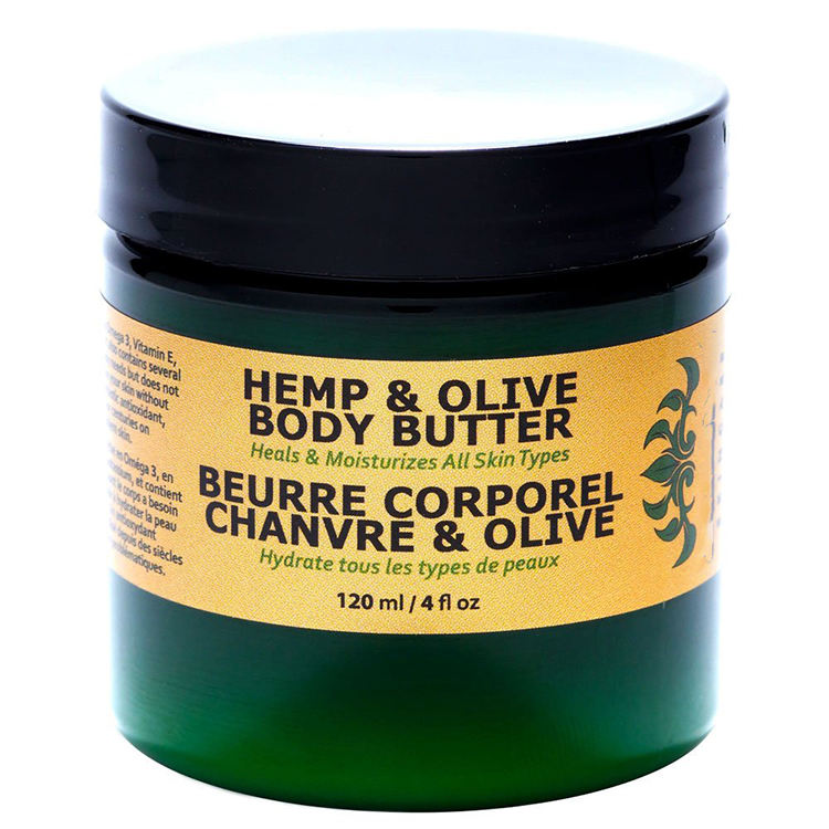 natural organic hemp &olive oil body butter heals and moisturize all skin
