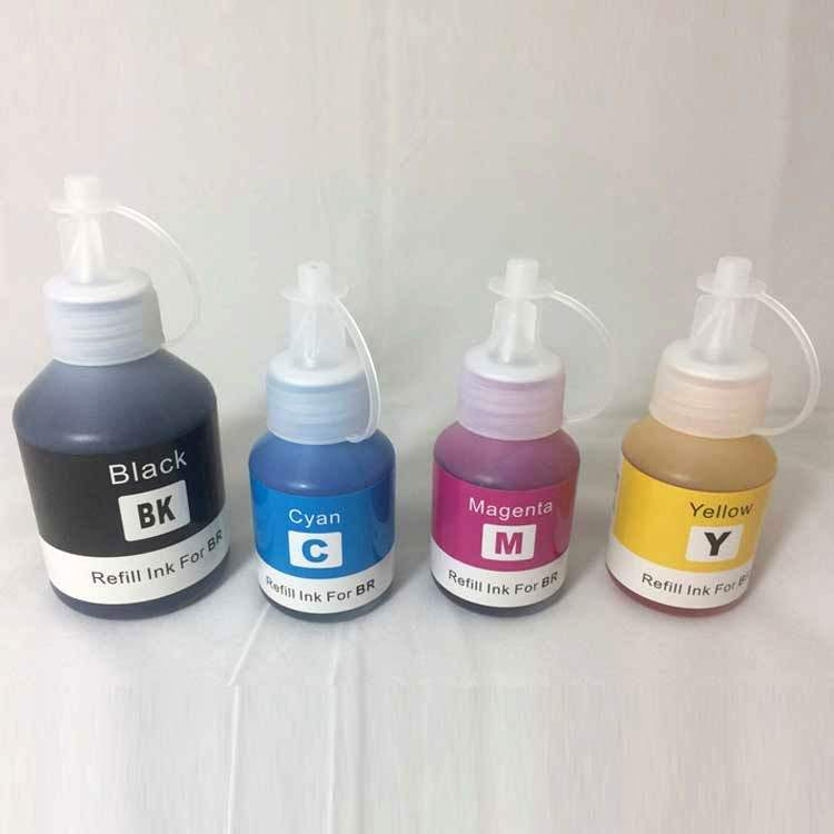 Refill Ink Bottles Compatible for Brother DCP-T300//500W//700W Printers BT6000//5000 4 Pack