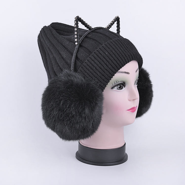 Latest Modern Products Winter Ear Muff For Girls,Cat Plush earmuffs