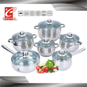 stainless steel hot new products cooking pot cookware set