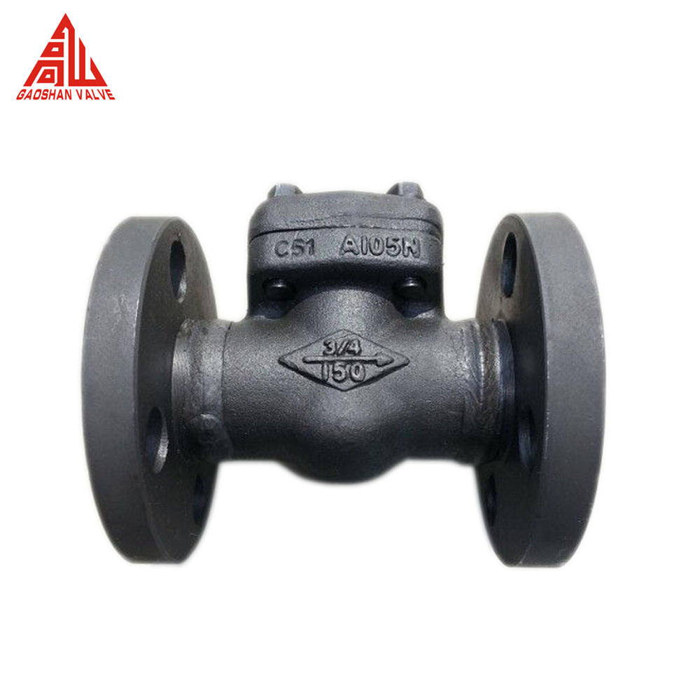 Carbon Steel ASTM Forged A105 150LB Flanged Check Valve