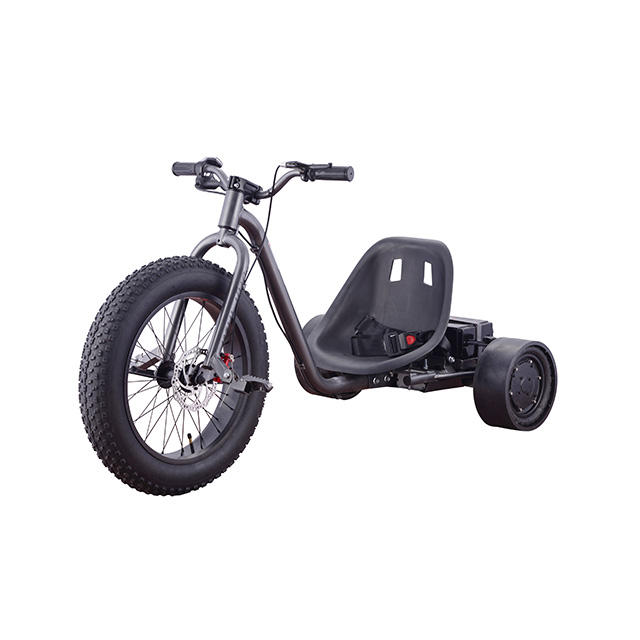 free shipping Kid children 36v 1000W 2000w motor 3 Wheel Motorised e Bike drift trike