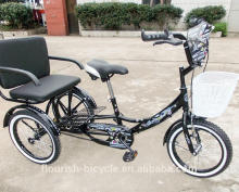 16inch tricycle,big type/good tires/basket/number plate