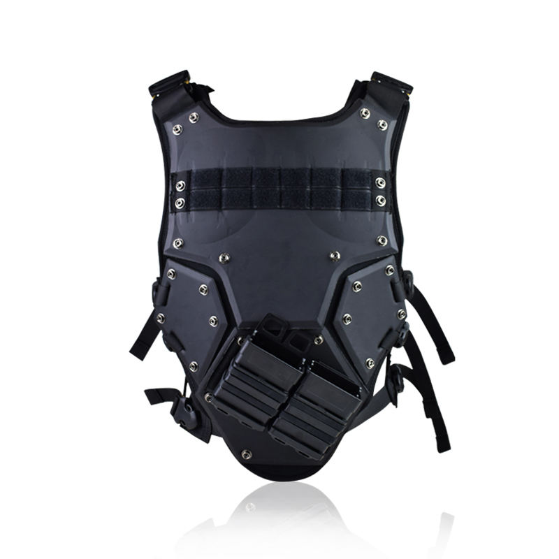 ActionUnion tactical combat protective TF3 plastic Vest for special forces with molle m4 magazine pouch box