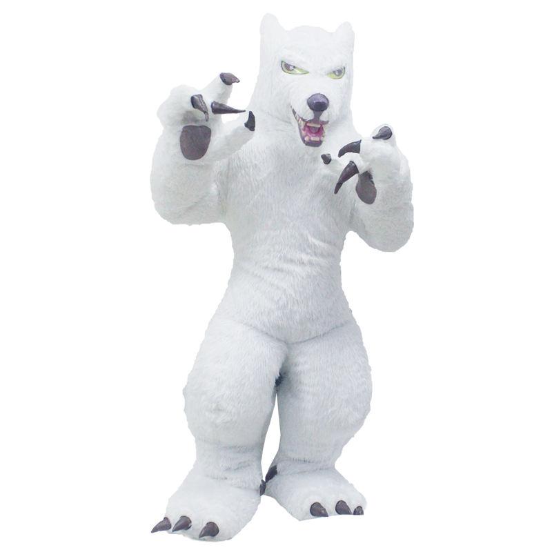 Ugly Bear Customade adult Mascot costume Hallowmas//Christmas walking doll
